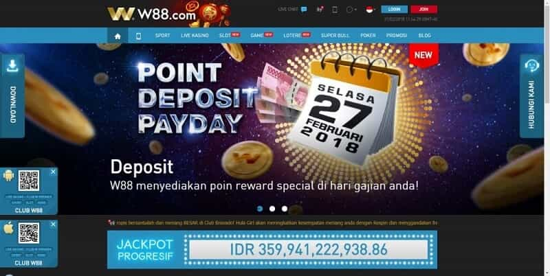 Promosi Dan Bonus - W88 Indonesia