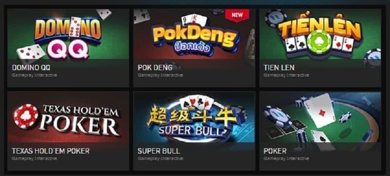 Berbagai Permainan Poker Online Dengan Peluang Besar – W88