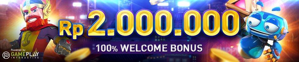 Bonus Selamat Datang Untuk Anggota Baru Hingga Rp 2.000.000