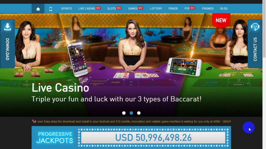 Bermain Baccarat Live Online Menguntungkan di W88