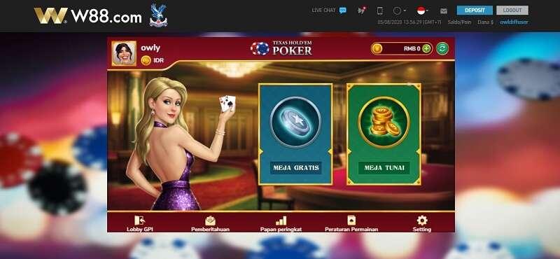 Detil Kejadian Penipuan Poker W88