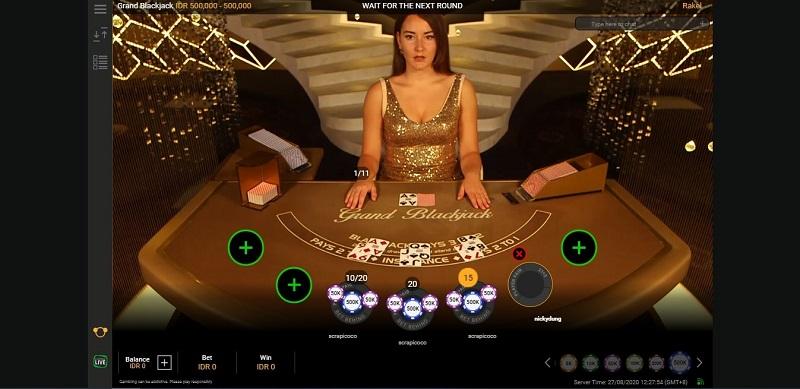 Langkah Berani Mulai Main Blackjack Online W88
