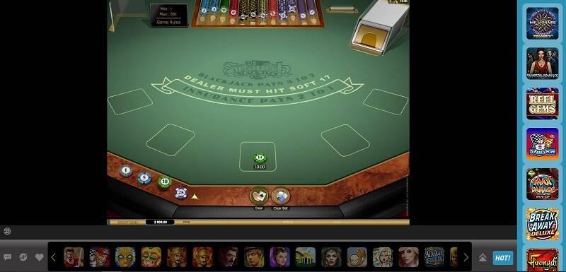 Blackjack Online W88