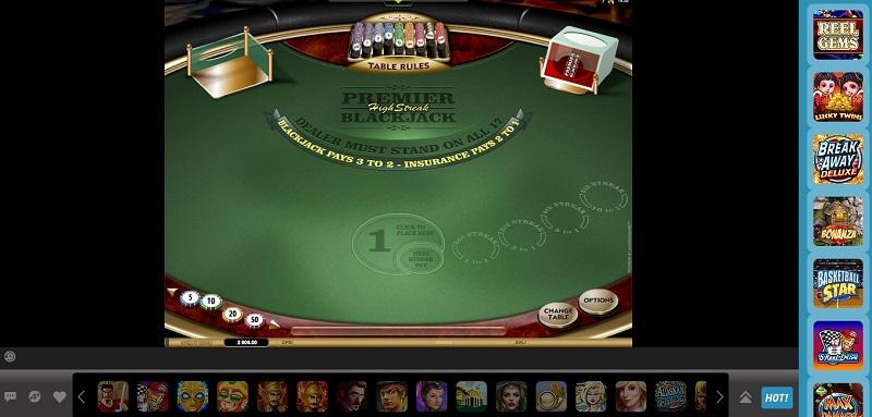 Blackjack Rules W88