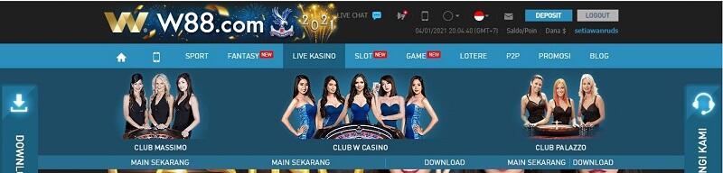 Komplit dan Sempurna: Roulette Casino W88
