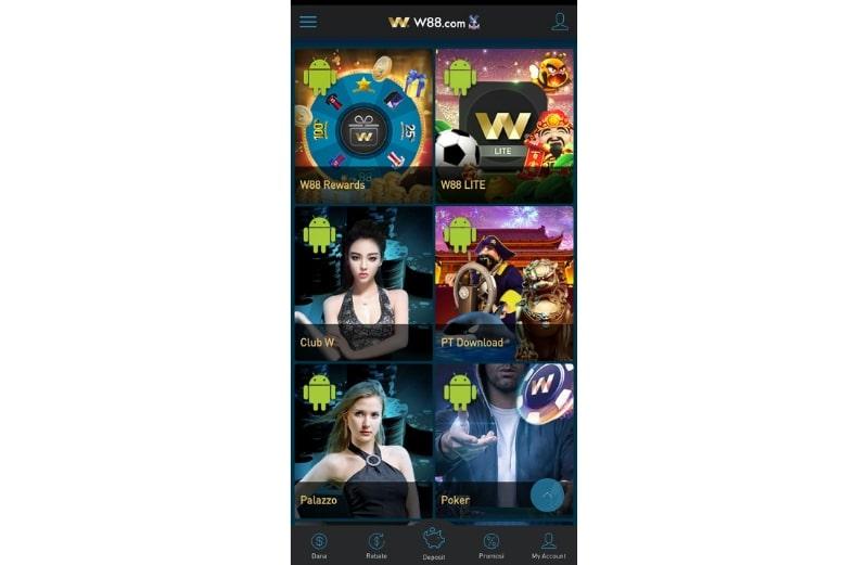 Download Aplikasi Online Android dan iOS - W88 Indonesia