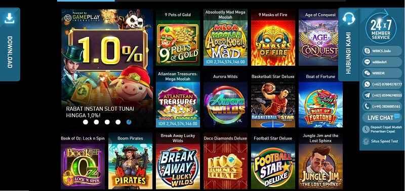 Bergabung dan Dapatkan Pengalaman Seru Slot Games